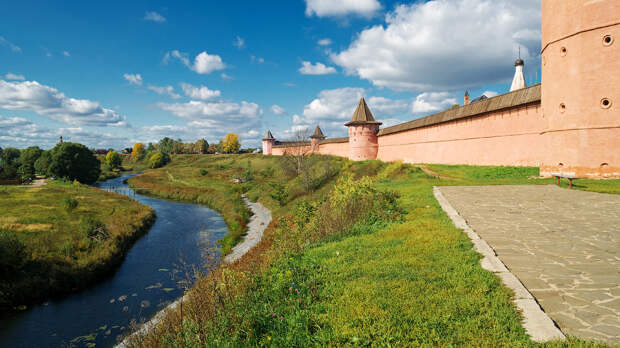 Суздаль. Спасо-Евфимиев мужской монастырь.Часть 1.