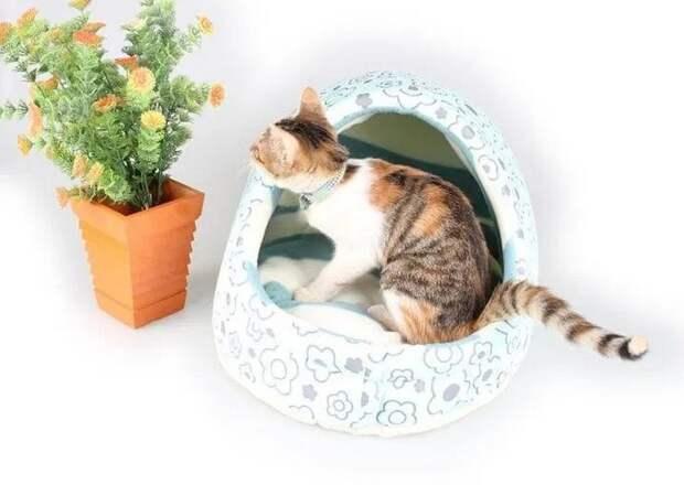 Выкройка домика для домашних животных