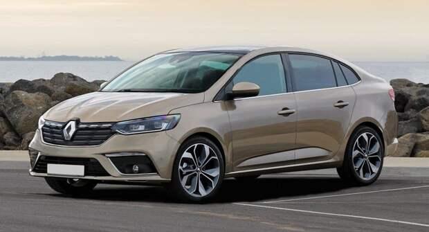 Похож ли новый Renault Logan на VW Polo или Lada Granta