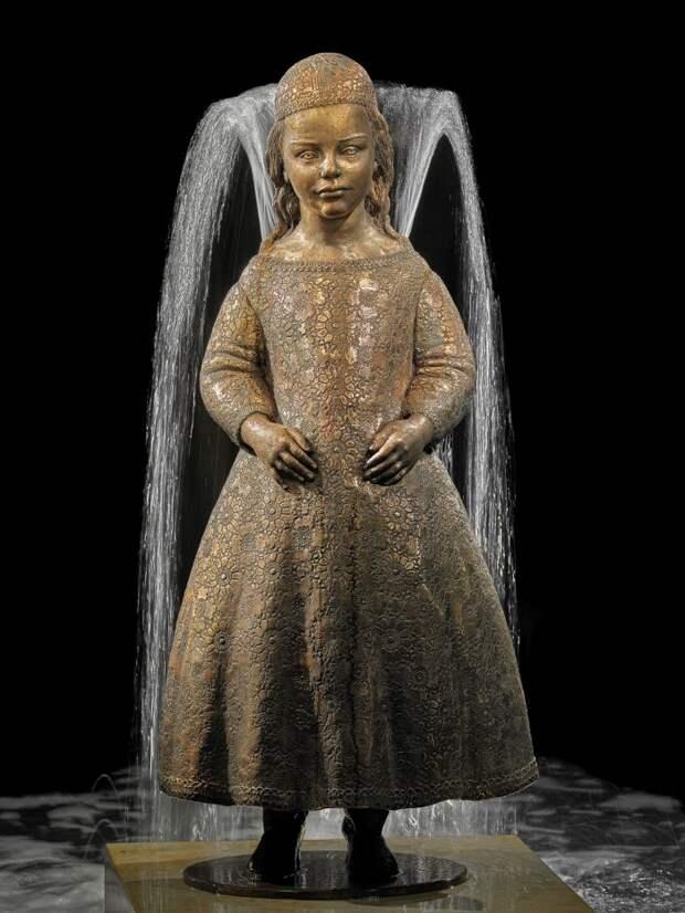 Скульптуры-фонтаны