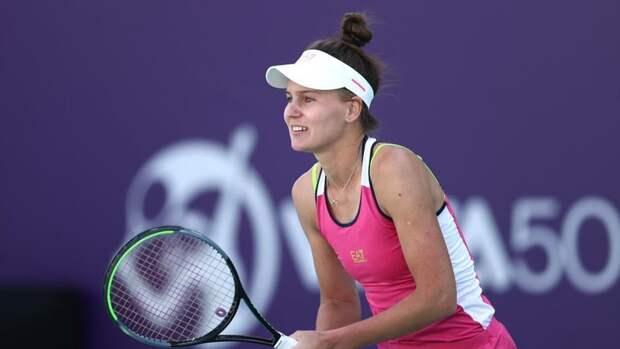 Кудерметова осталась первой ракеткой России вобновленном рейтинге WTA
