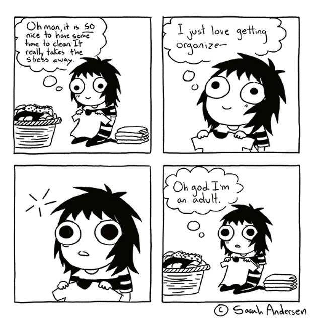 Комиксы про взрослую жизнь