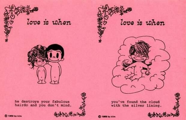 Грустная история реальной пары «Love is»