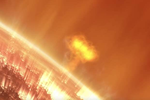 На Солнце произошло несколько вспышек