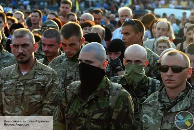 «Правый сектор» объявил мобилизацию: подразделения в Донбассе приводят в боевую готовность