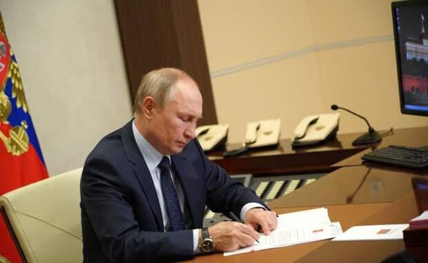 Путин в ближайшие дни подпишет закон о запрете экстремистам избираться