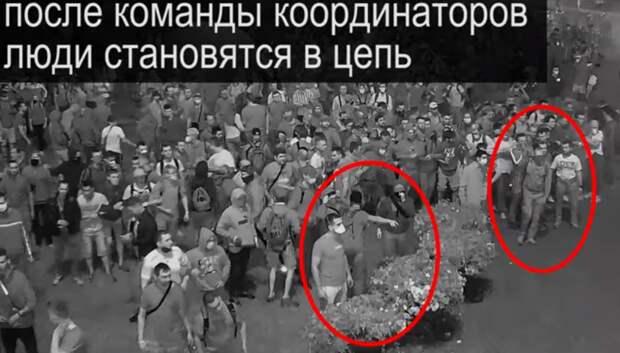 Спортивные парни с ранцами. Кто направляет беломайдан в Беларуси. Анализ видео протестов
