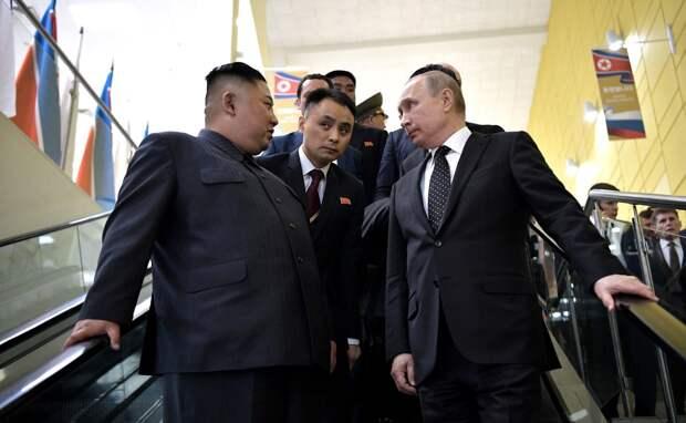 Владимир Путин заявил о необходимости гарантий безопасности для ядерного разоружения Северной Кореи