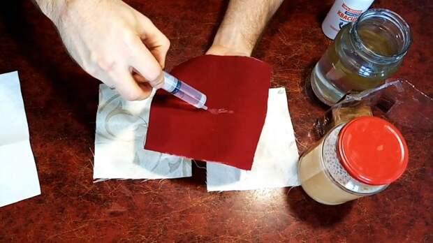 Как сделать обычную ткань непромокаемой