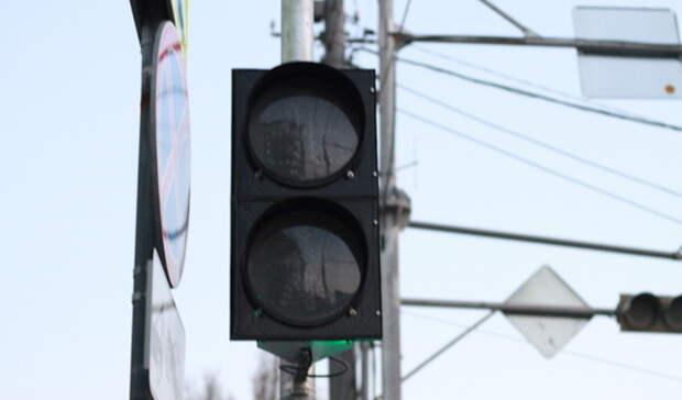Сегодня отключат светофоры наулице Пермякова вТюмени