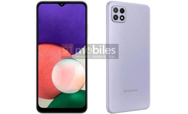 В сеть утекли рендеры самого доступного 5G-смартфона Samsung