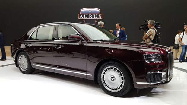 Цена Aurus Senat снизилась на 10 млн рублей
