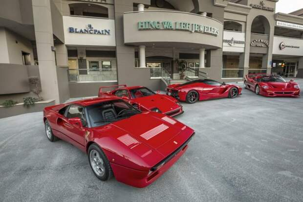 Потрясающая коллекция суперкаров Дэвида Ли коллекционер, коллекция, спорткар, суперкар