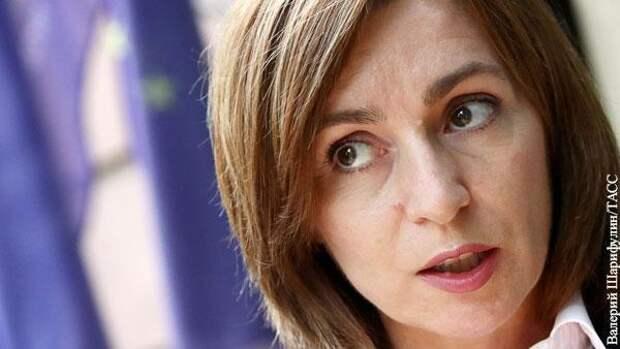 Майя Санду преподала Киевской хунте урок по отношениям с Россией