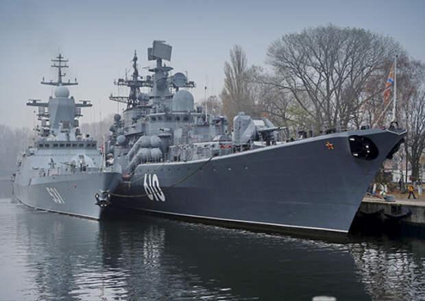 Балтийский флот отмечает 318-ю годовщину со дня основания