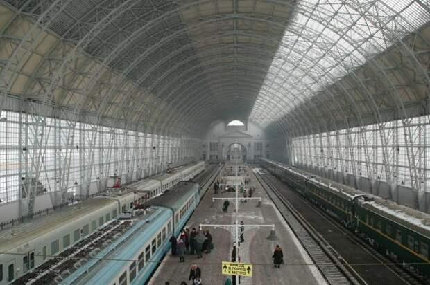 Дебаркадер Киевского вокзала