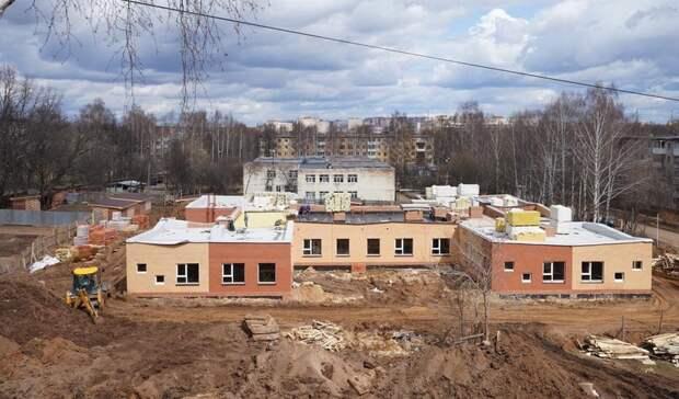 Ясли на 80 мест строят в Воткинске