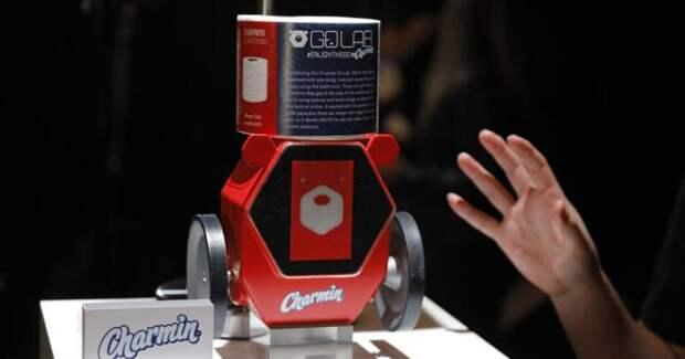 Робот для подачи туалетной бумаги, iКартошка и другие достижения техники CES 2020