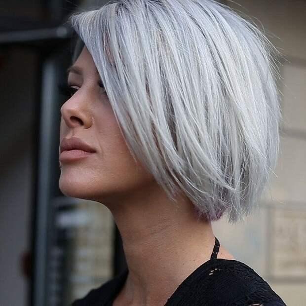 модные стрижки и цвет волос