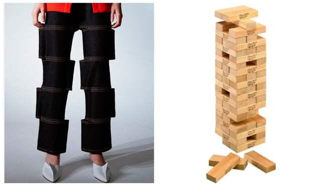 Странные джинсы-конструктор от бренда из Южной Кореи впечатляют и завораживают