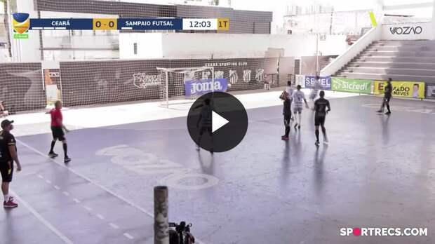 Ceará 3 x 1 Sampaio Futsal - Melhores Momentos Copa do Brasil de Futsal (16/05/2021)