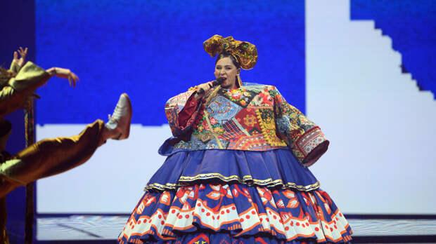 Manizha прошла в финал «Евровидения»