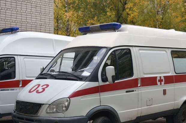В Керчи во время заправки взорвался автомобиль
