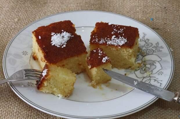 Рецепт арабского молочного пирога
