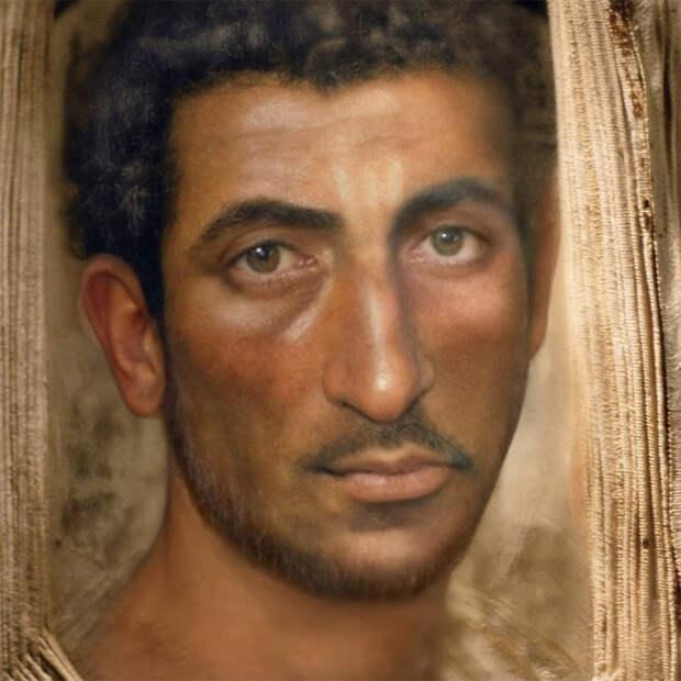 Нейросеть дорисовала лица людей из прошлого. Иисус Христос, Наполеон и Статуя Свободы (+17 еще), аж до мурашек