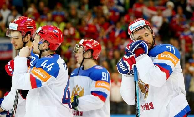 Международный скандал с русскими хоккеистами. Они не стали слушать гимн Канады после разгрома в финале ЧМ: видео