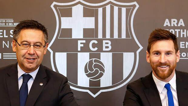 Стало известно, почему Месси перестал доверять экс-президенту «Барселоны» Бартомеу