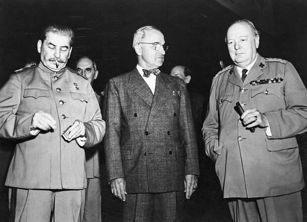 Решено в Потсдаме: как прошла последняя официальная встреча «большой тройки»