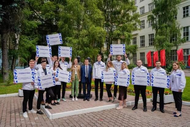 В университете транспорта на Образцова сформировали 16 студотрядов