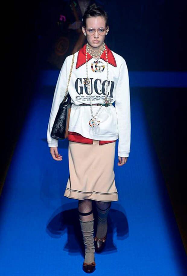 Коллекция весна-лето 2018 Gucci
