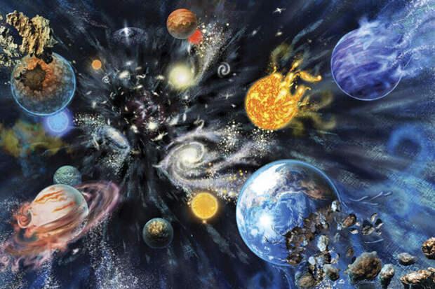 3 сценария гибели Вселенной: вне времени, исчезновение ивзрыв