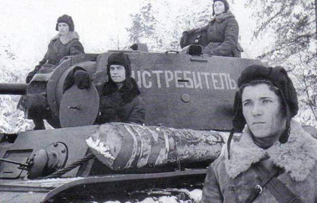 Как советские танкисты грелись в морозы при помощи обычного ведра