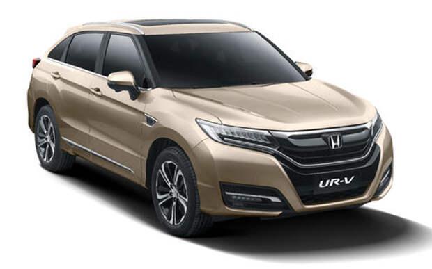 Новый кроссовер Honda UR-V: он не получка, не аванс