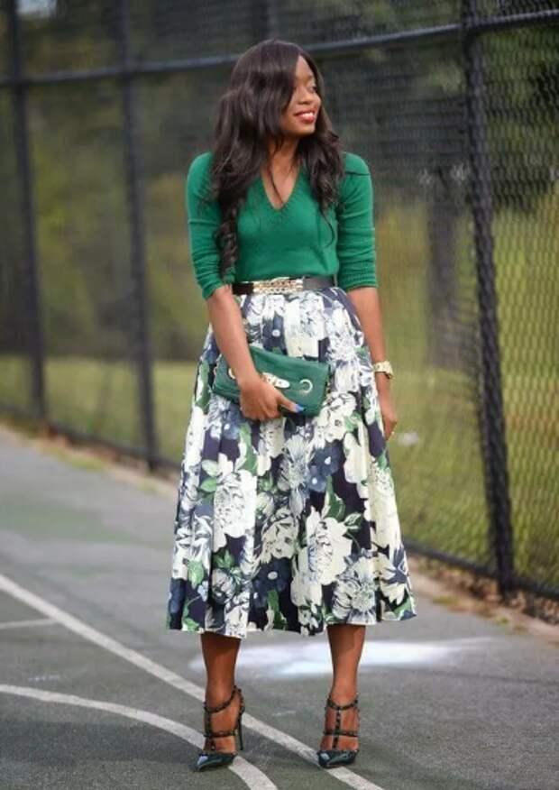 Как красиво носить зеленый цвет: пять простых подсказок