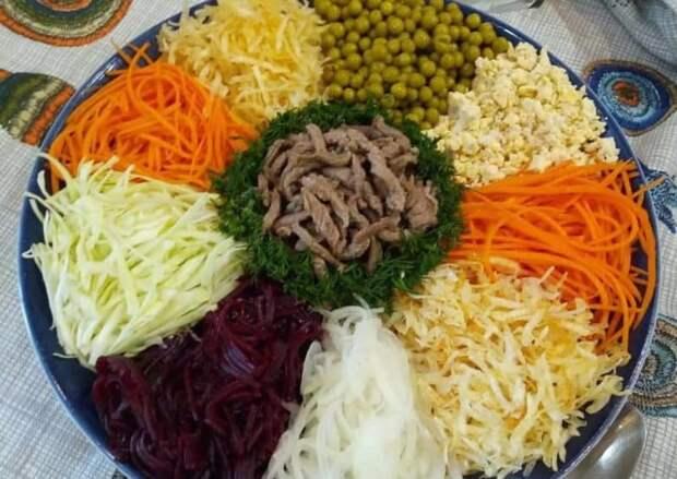 Салат Чафан. Знаменитое сибирское блюдо, которое может заменить полноценный приём пищи 4
