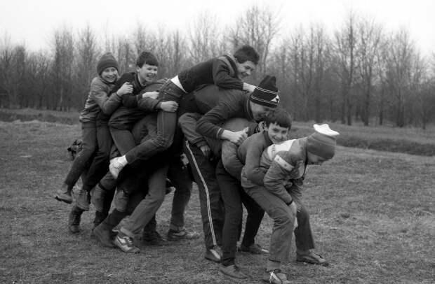 Ностальгия: забавы советского детства