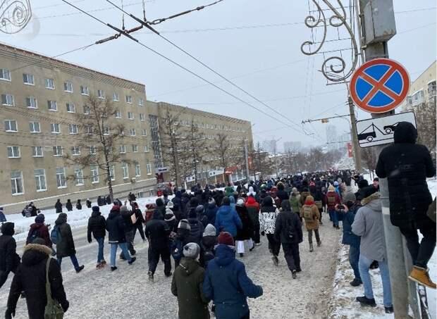 Уголовное дело в отношении одной из участниц январского митинга в Ижевске направили в суд