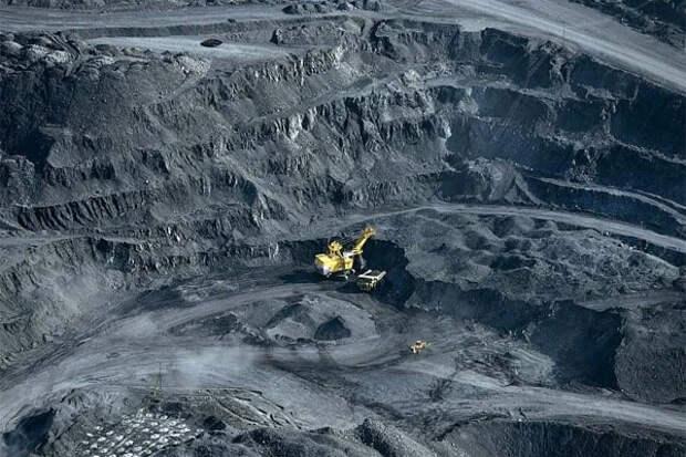 Добыча угля землетрясение