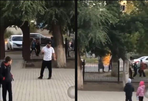 На 20 суток арестовали уральца, который вел себя неадекватно в школьном дворе