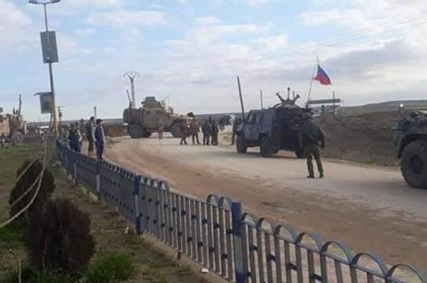 В Сирии американцы вновь перекрыли дорогу российскому патрулю