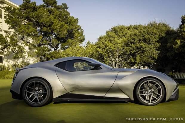 Титановый суперкар Icona Vulcano за €2,5 миллиона Icona, Vulcano, гиперкар, суперкар