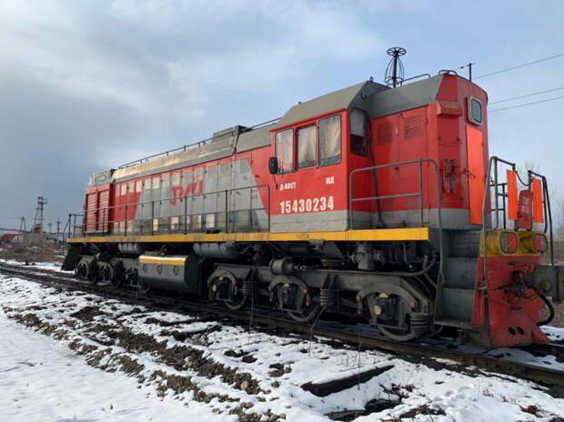 Хабаровский железнодорожник пытался вывезти краденое топливо на угнанном локомотиве