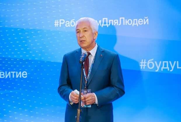 Владимир Васильев: «В обществе сейчас присутствует запрос на обновление и «Единая Россия» готова на него ответить».