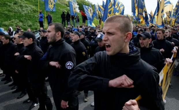 Украинские радикалы требуют крови на Донбассе и закона о коллаборантах