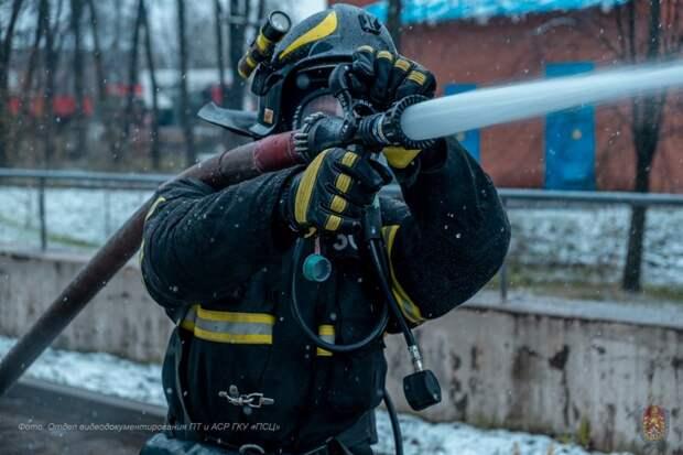 Московские пожарные примут участие во всероссийских соревнованиях