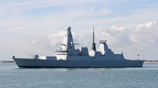 Минобороны Украины сообщило о заходе корабля ВМС Британии в порт Одессы
